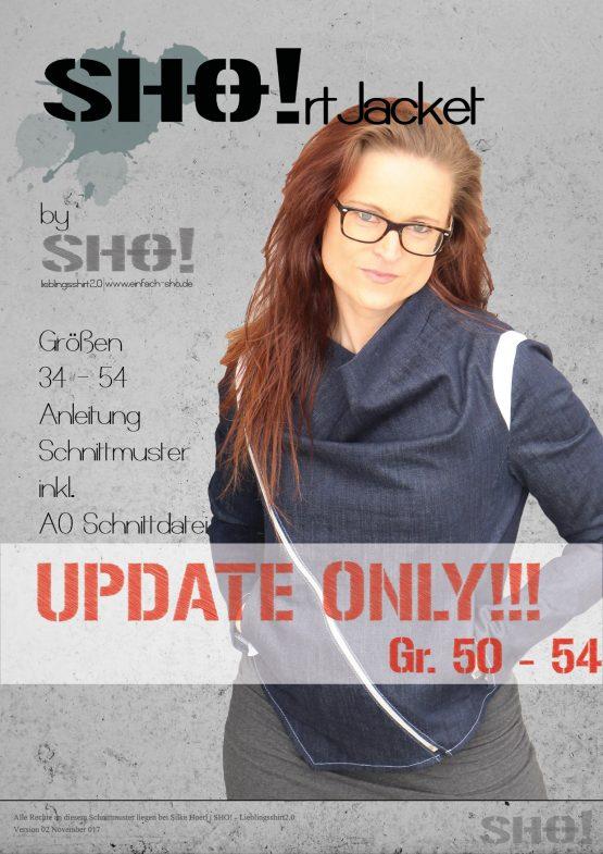 Update zum eBook SHO!rt Jacket - Schnitt Größen 50-54